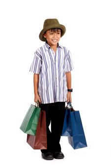 Free Happy Young Boy Stock Photography - 4407952