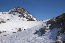Free Snow Mountain Landscape Royalty Free Stock Photography - 4408137