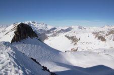 Free Snow Mountain Landscape Royalty Free Stock Image - 4408156
