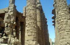 Free Karnak S Pillars Stock Images - 4408234