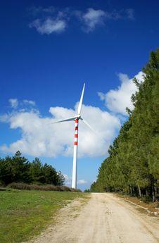 Free Windmills, Eolic. Stock Images - 4408544