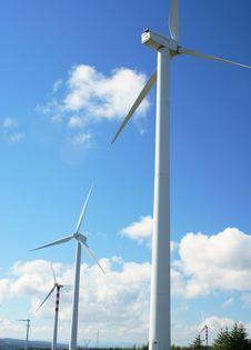 Free Windmills Royalty Free Stock Photo - 4408605