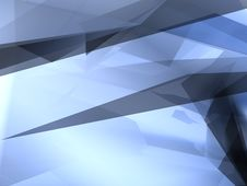 Free Abstract Blue Shape Royalty Free Stock Images - 4408879