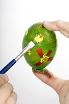 Free Easter Egg Painting Stock Photos - 4409013