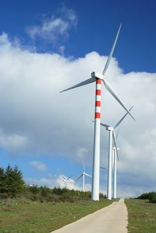 Free Windmills, Eolic. Stock Photos - 4409083