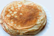 Free Pancakes Royalty Free Stock Photo - 4409105
