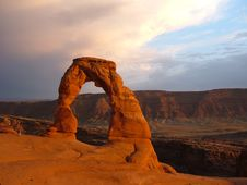 Free Delicate Arch Royalty Free Stock Image - 4409106