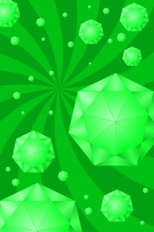 Free Emeralds Stock Image - 4409751