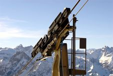 Free Cable Car Holder Stock Photo - 4409950