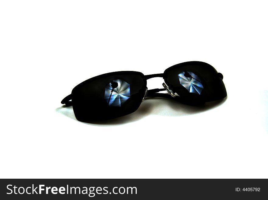 Sunglasses with Studio Lighting