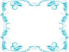 Free Blue Framework Royalty Free Stock Images - 44098289
