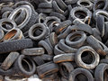 Free Dumped Tires Royalty Free Stock Photography - 4417067