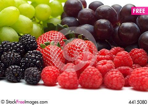 Free Berry Assortment Stock Photo - 4415080