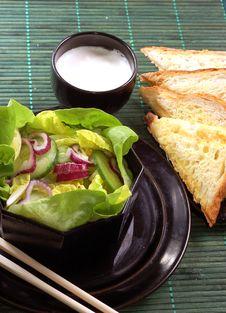 Free Salad Royalty Free Stock Photos - 4410648