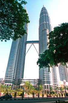 Free Petronas Twin Towers Royalty Free Stock Image - 4411756