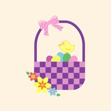 A Colorful Easter Basket