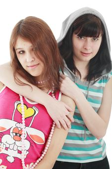 Free Pretty Sisters Stock Image - 4413201