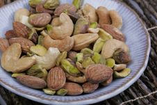 Free Mixed Nuts Royalty Free Stock Photography - 4413647
