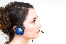 Free Telephone Operator Stock Photos - 4413783