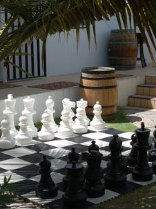Let S Play Chess Royalty Free Stock Photo