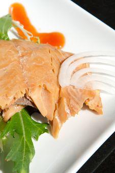 Free Alaskan Smoked Sockeye Salmon Stock Images - 4414384