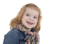 Free Happy Little Girl Royalty Free Stock Photos - 4414408