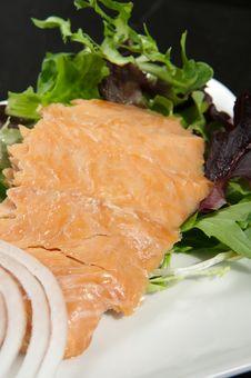 Free Alaskan Smoked Sockeye Salmon Stock Photos - 4414453
