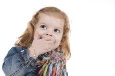 Free Happy Little Girl Stock Photo - 4414550