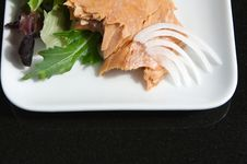 Free Alaskan Smoked Sockeye Salmon Stock Photography - 4414572