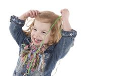 Free Happy Little Girl Royalty Free Stock Photography - 4414597