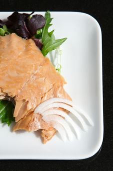 Free Alaskan Smoked Sockeye Salmon Stock Photography - 4414602