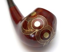 Free Close-up Of Curved Ornamented North-caucasian Pipe Stock Image - 4414721