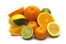 Free Fresh Citrus Assortment Royalty Free Stock Images - 4414959