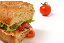 Bacon Sandwich Royalty Free Stock Photos