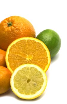 Free Fresh Citrus Assortment Stock Photography - 4415022
