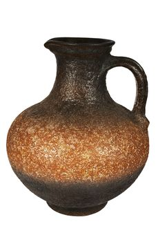 Beautiful Ancient Jug Stock Photos