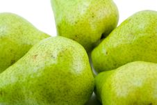 Free Pears Close-up Royalty Free Stock Photo - 4415565
