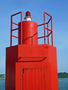 Free Red Lighthouse Royalty Free Stock Image - 4416896