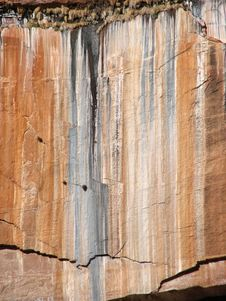 Free Zion Cliff Face Stock Photos - 4418343
