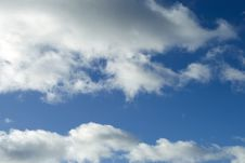 Free Blue Sky White Clouds Stock Photography - 4418862