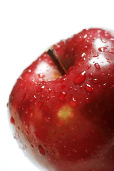 Free Red Apple Close Up Royalty Free Stock Images - 4418899