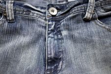 Free Jeans Background Royalty Free Stock Photography - 4419217