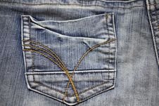 Free Jeans Background Stock Images - 4419784