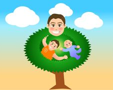 Free Father Tree Stock Photography - 4419902
