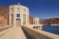 Hoover Dam - Nevada Time Stock Image