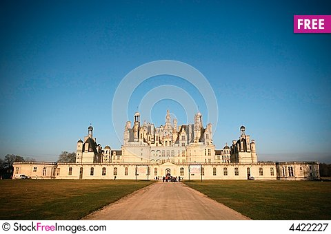 champord castle Stock Photo