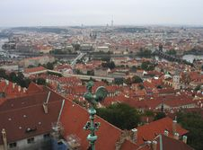 Free Prague Rooftops View Stock Photos - 4420303