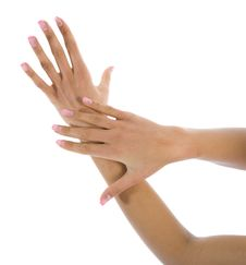 Free Woman Hand Stock Image - 4420521