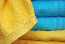 Color Towels Royalty Free Stock Image