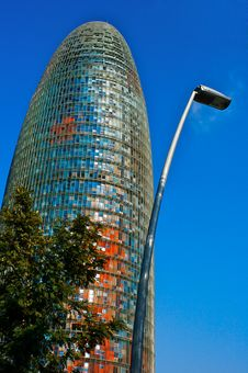 Free Barcelona Bullet With Lampost Stock Photo - 4420560